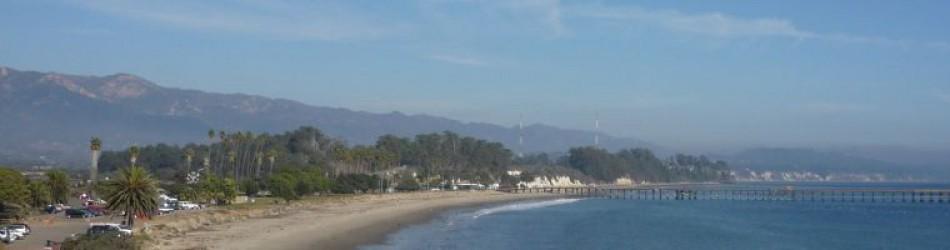 UCSBから眺めたGoletaビーチ