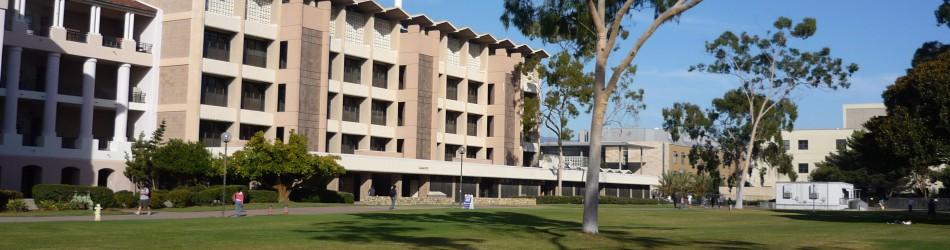 UCSBのキャンパス風景