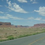Way to Monument Valley